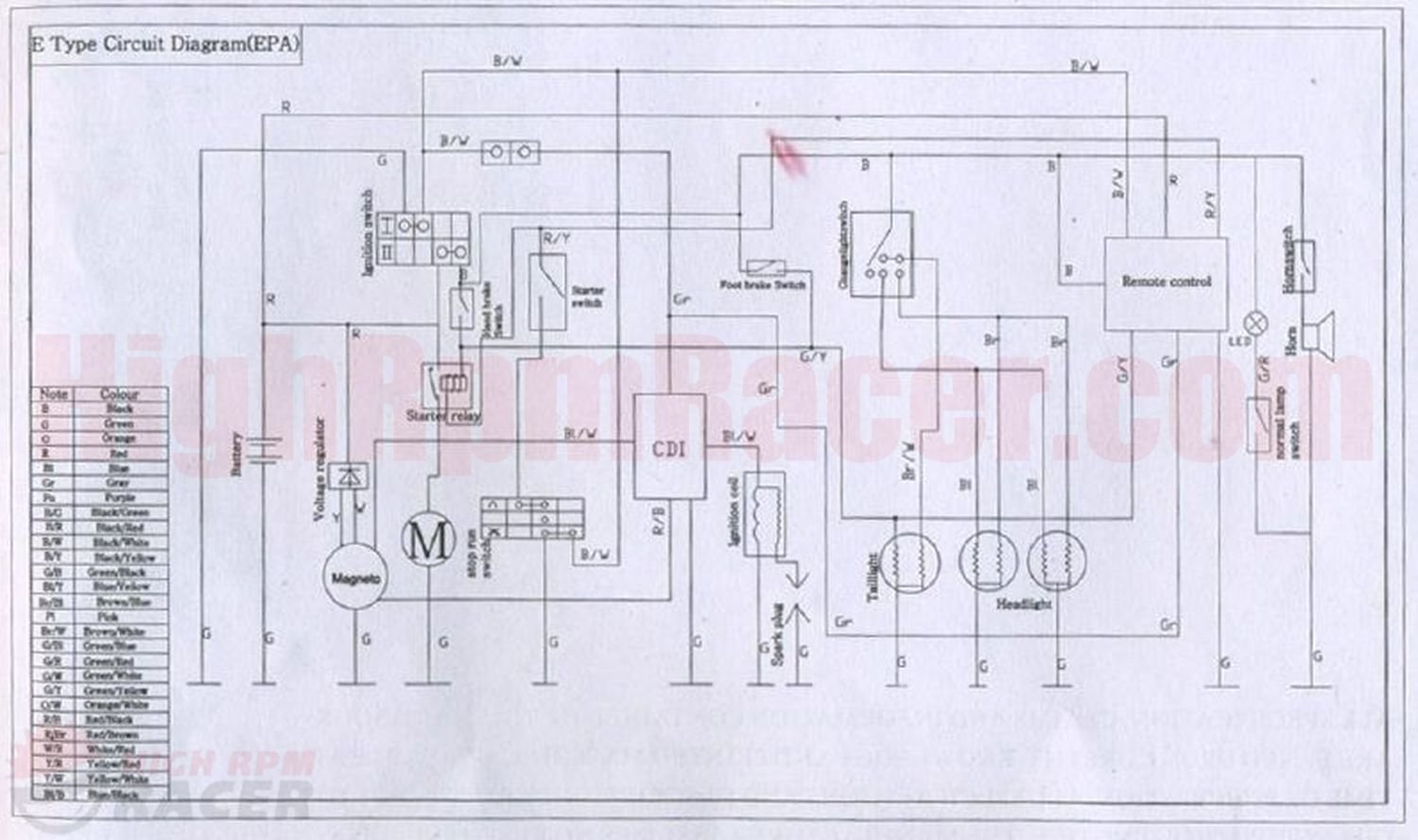 buyang atv 110 wiring diagram 0 00