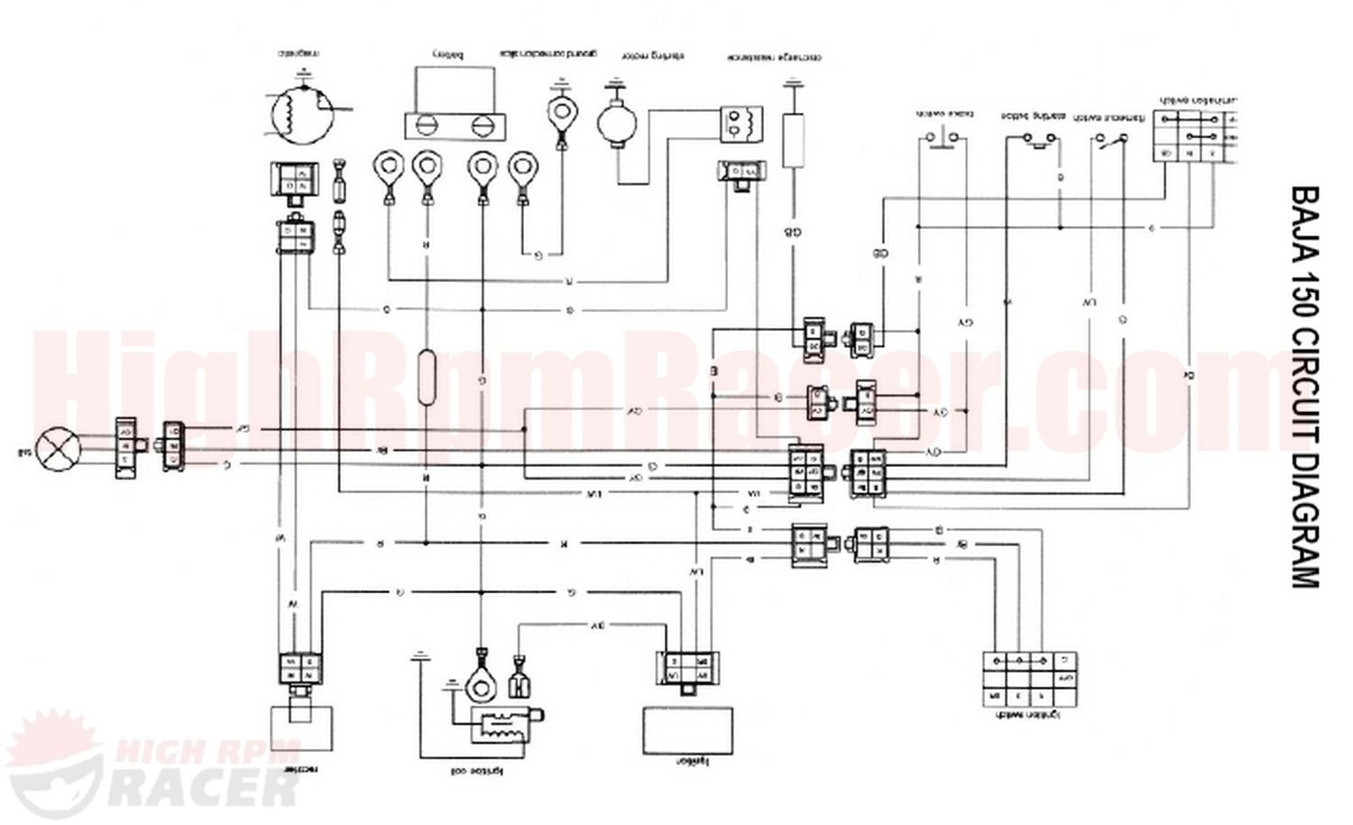 bmx atv wiring diagram bmx wiring diagrams online wiring diagram for baja 150cc atvs 0 00