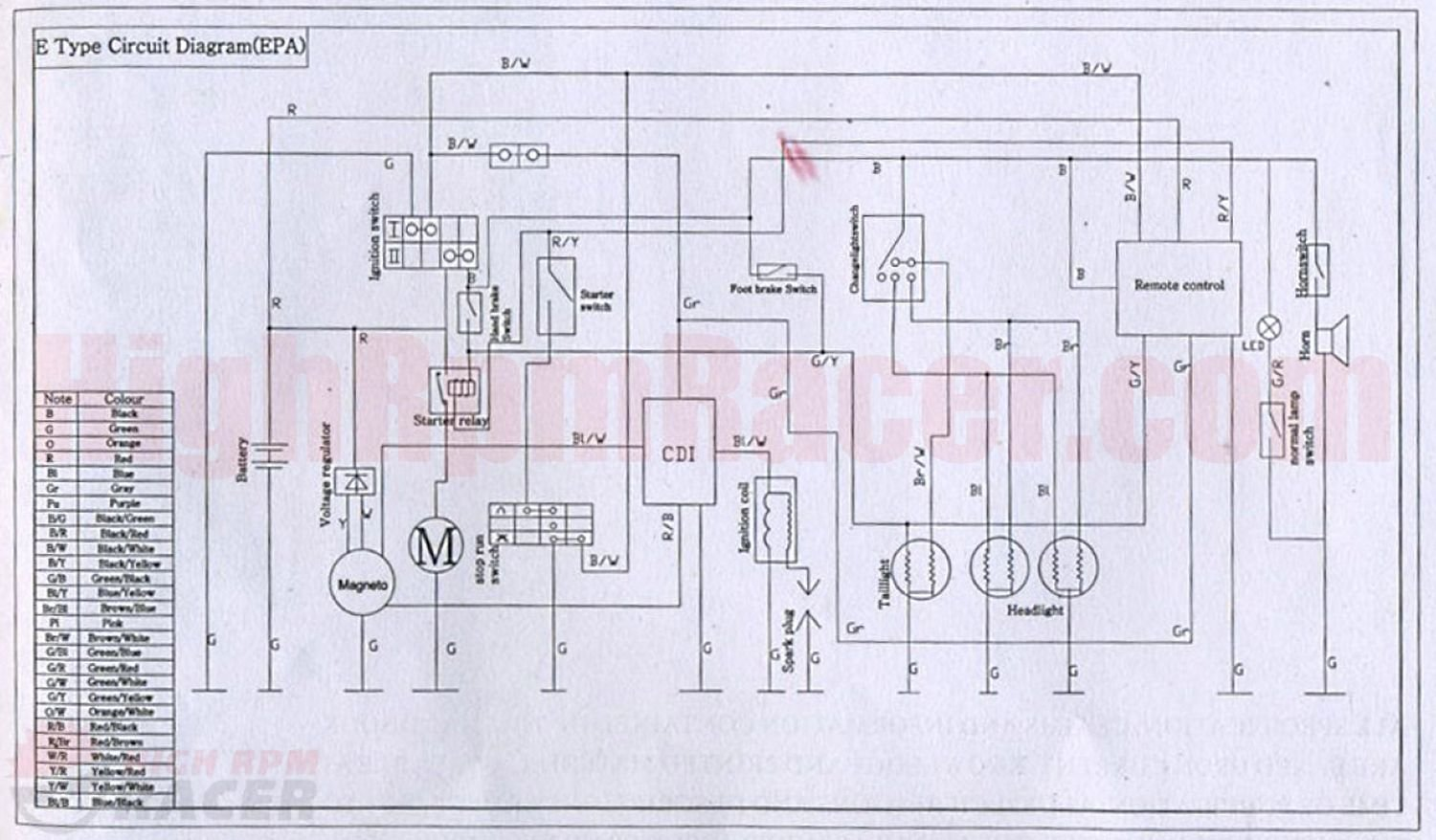 falcopy110_wd chinese wiring diagram quad chinese wiring diagrams \u2022 wiring alpine cde 110 wiring diagram at n-0.co